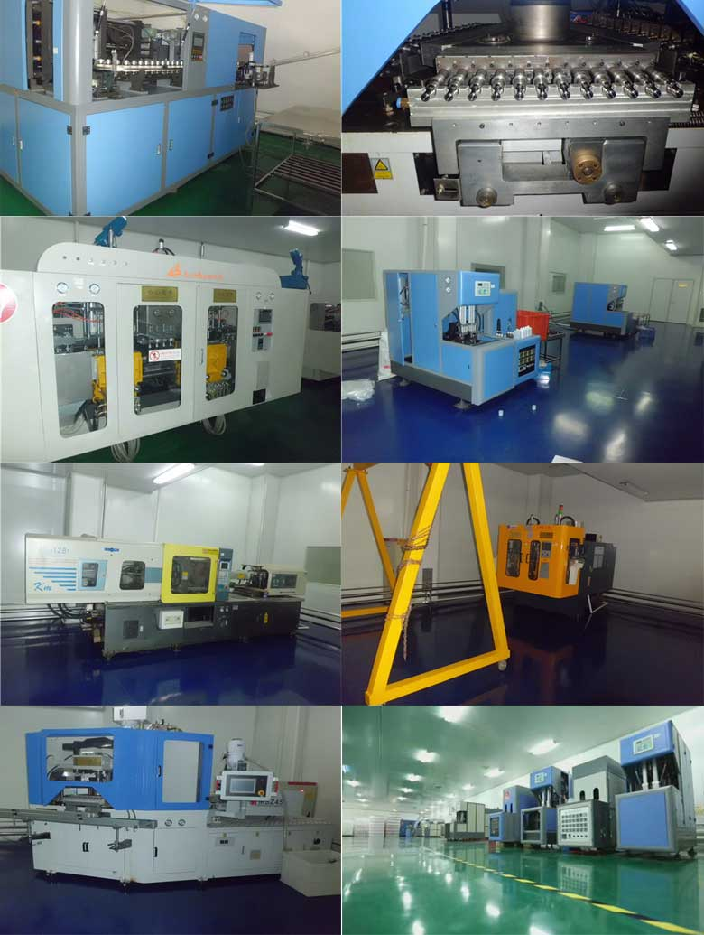 Our company has introduced the most advanced plastic bottle production equipment in the world.
